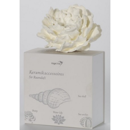 Difuzoriaus gėlė Peony, keramika, Ø 15 cm