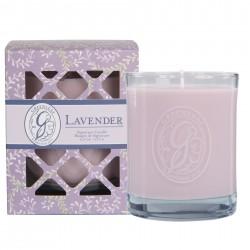 """LAVENDER kvapi sojų žvakė """"Signature"""" 270 gr."""