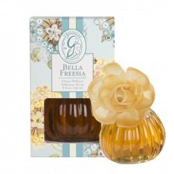Namų kvapas BELLA FRESSIA, rinkinys su gėle 236 ml.